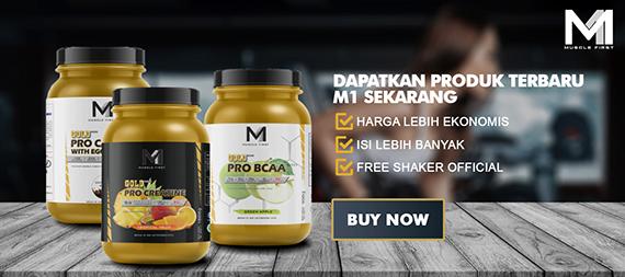 Muscle First, Whey Protein Lokal Terbaik, Terdaftar BPOM dan Halal